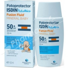 Fotoprotector Isdin Pediatrics Fusion Fluid MineraL Baby SPF50+