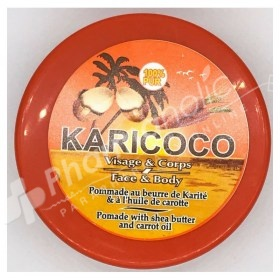 Karicoco Pomade with Shea Butter and Carrot Oil