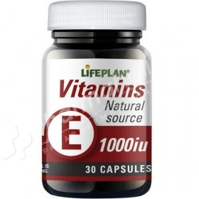 Lifeplan Vitamin E 1000iu