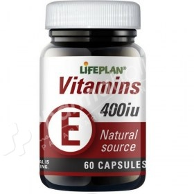 Lifeplan Vitamin E 400iu