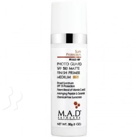 M.A.D Photo Guard Matte Finish Primer SPF50 Medium