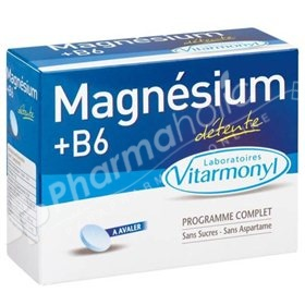 magnesium and vitamin B6.