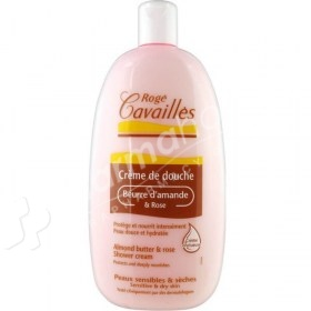 Roge Cavailles Almond Butter & Rose Shower Cream