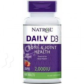 Natrol Daily D3 Strawberry Flavor