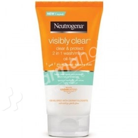 Neutrogena Visibly Clear 2 in 1 Oil free Wash Mask