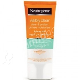 Neutrogena Visibly Clear Clear & Protect Oil-Free Moisturizer