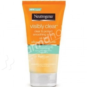 Neutrogena Visibly Clear Clear & Protect Scrub