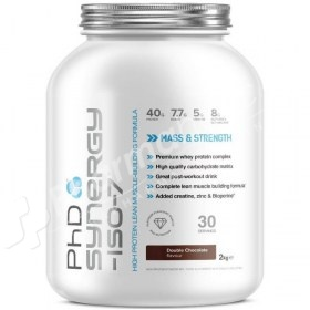 PhD Synergy ISO-7 Double Chocolate