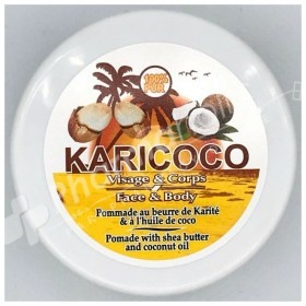 Karicoco Pomade with Shea Butter and Coconut Oil