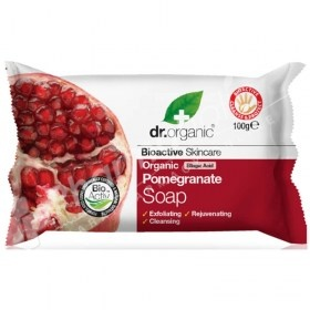 Dr.Organic Organic Pomegranate Soap