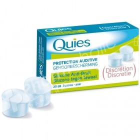 Quies Protection Auditive Earplugs Silicone Noise Protection