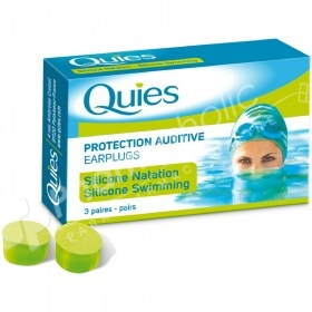 Quies Protection Auditive Earplugs Silicone Swimming