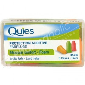 Quies Protection Auditive  Earplugs Foam