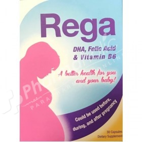 Rega DHA, Folic Acid & Vitamin B6