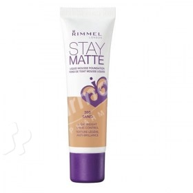 Rimmel London Stay Matte Liquid Mousse Foundation Sand