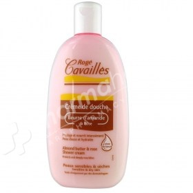 Roge Cavailles Shower Cream Almond Butter and Rose