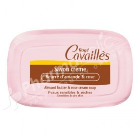 Rogé Cavaillès Almond Butter and Rose Cream Soap