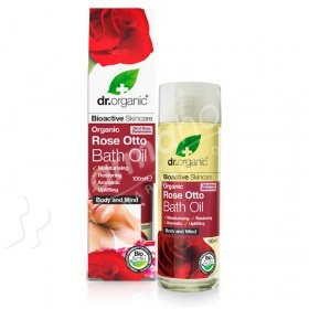 Dr.Organic Organic Rose Otto Bath Oil