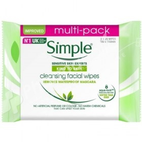 Simple Cleansing Facial Wipes Multi-Pack