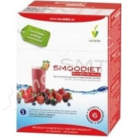 Novadiet Smoodiet Red Smoothie