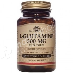 Solgar L-Glutamine 500mg Free Form