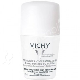 Vichy Deodorant 48Hr Soothing Anti-Perspirant Roll On