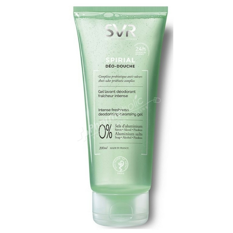 SVR Spirial Déo-Douche Cleansing Gel