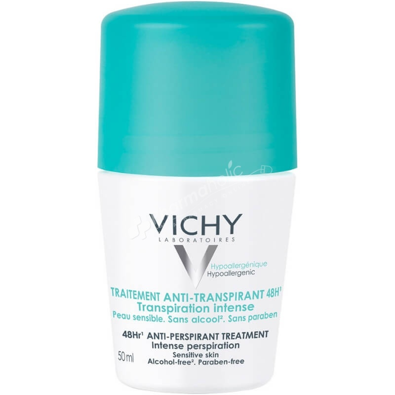 Vichy 48H Anti-Perspirant Treatment Roll-on Deodorant