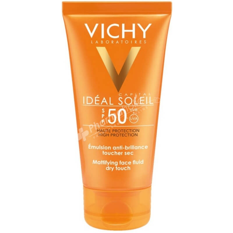 Vichy Idéal Soleil Mattifying Face Fluid Dry Touch SPF50