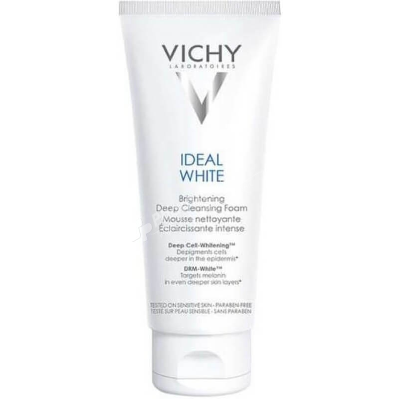 Vichy Ideal White Brightening Deep Cleansing Foam