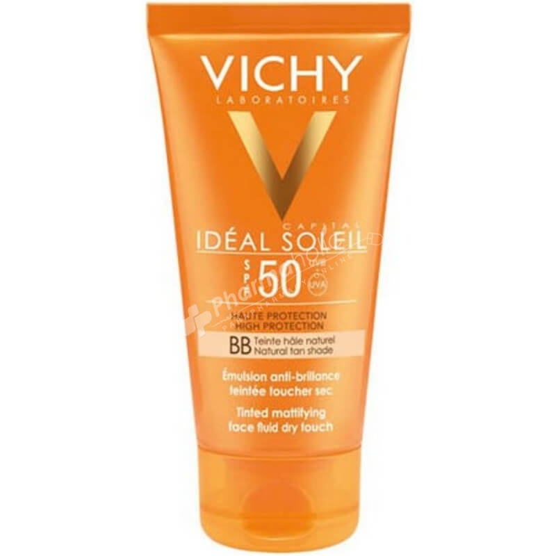 Vichy ideal Soleil BB Tinted Dry Touch Face Fluid SPF 50