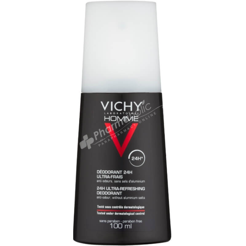 Vichy Homme Ultra-Refreshing Deodorant Spray